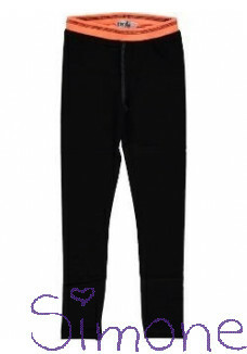 Birds by D-Rak legging 11036 black wintercollectie 2016 kinderboetiek simone