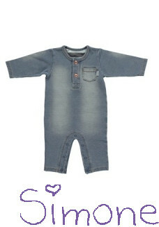 BESS romper 1709 052 light blue