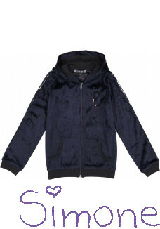 Crush Denim vest Sofie 31821112 navy wintercollectie 2018 kinderboetiek simone