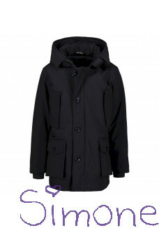 Airforce jas FRB0364-552 classic parka technical softshell dark navy blue wintercollectie 2019 kinderboetiek simone