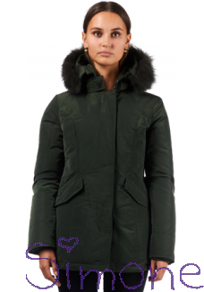 Airforce jas HR82G0424-621 2 pocket metal parka-TTT Rosin Green wintercollectie 2018 kinderboetiek simone