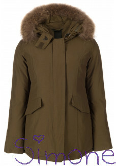 Airforce jas HR72G0102 dark olive green wintercollectie 2017 kinderboetiek simone