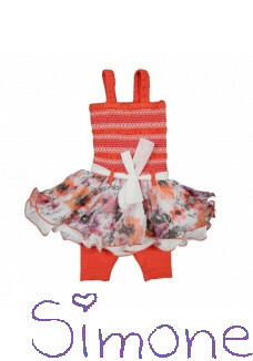 LoFff set B7509-02 sweet smocked dress blush/white zomercollectie 2016 kinderboetiek simone