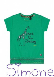 Quapi shirt Bibe S202 jungle green zomercollectie 2020 kinderboetiek simone