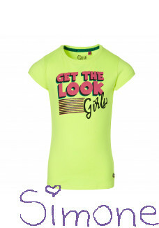 Quapi shirt Dane neon yellow wintercollectie 2020 kinderboetiek simone