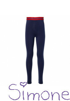 Quapi legging Diva dark blue wintercollectie 2020 kinderboetiek simone