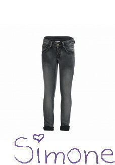 Be a Diva broek Eve black denim wintercollectie 2015 kinderboetiek simone