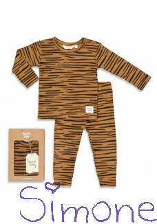 Feetje limited edition pyama 505.00046.1 Tiger Taylor camel wintercollectie 2020 kinderboetiek simone