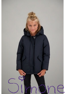 Airforce jas 2 pocket parka HRG0434-552 dark navy blue wintercollectie 2019 kinderboetiek simone
