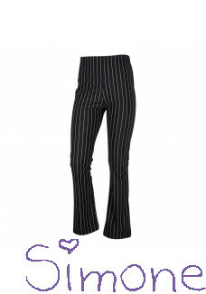Kiestone broek KS6532 flair black stripe wintercollectie 2020 kinderboetiek simone