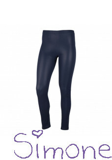 Kiestone fake leather legging KS6565 dark blue