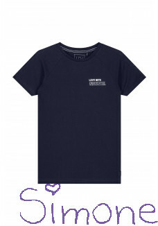 Levv shirt S203 Filemon dark navy zomercollectie 2019 kinderboetiek simone