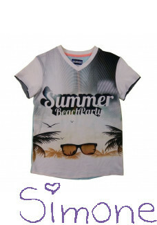Legends22 shirt LGND-19-138 beachparty white zomercollectie 2019 kinderboetiek simone