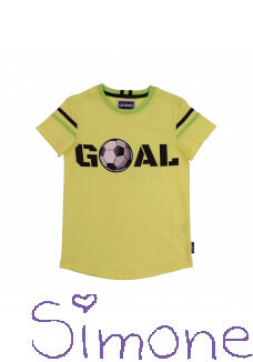 Legends22 shirt Rafael LGND-20-315 yellow neon zomercollectie 2020 kinderboetiek simone