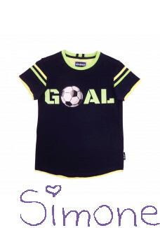 Legends22 shirt Renzo LGND-20-318 dark blue green zomercollectie 2020 kinderboetiek simone