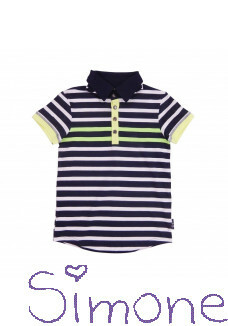 Legends22 poloshirt Ricardo LGND-20-319 dark blue white zomercollectie 2020 kinderboetiek simone
