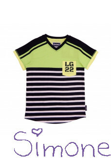 Legends22 shirt Robbe LGND-20-320 dark blue-green zomercollectie 2020 kinderboetiek simone