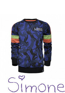 Legends22 sweater Gerwin LGND-20-929 true blue wintercollectie 2020 kinderboetiek simone