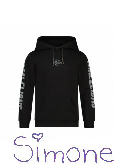 Malelions hoodie MJ-AW21-1-17 black reflective lective