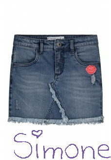 Quapi denim rok Amy S201 blue denim zomercollectie 2020 kinderboetiek simone