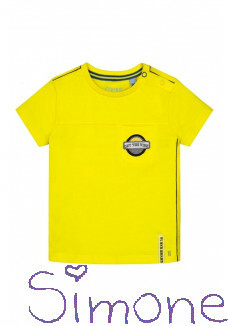 Quapi shirt Berry S202 empire yellow zomercollectie 2020 kinderboetiek simone