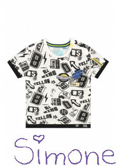 Quapi shirt Bilal S202 dark grey sketch text zomercollectie 2020 kinderboetiek simone