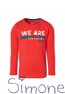 Quapi longsleeve Damon true red wintercollectie 2020 kinderboetiek simone