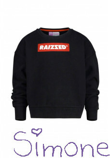 Raizzed sweater Nairobi deep black RAIZW00109-944 wintercollectie 2019 kinderboetiek simone