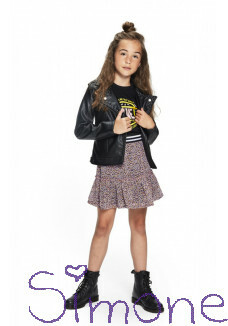 Retour fake leather jacket Tiarra RJG-11-608-9000 black zomercollectie 2021 kinderboetiek simone