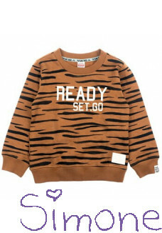 Sturdy sweater 716.00399 brown wintercollectie 2020 kinderboetiek simone