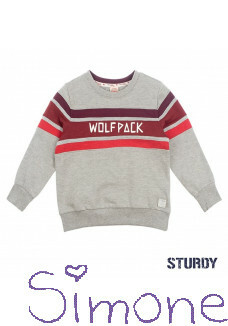 Sturdy sweater 716.00353 grey melange wintercollectie 2019 kinderboetiek simone