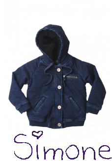 Dutch Dream Denim vest/jas unisex Funo denim wintercollectie 2015 kinderboetiek simone