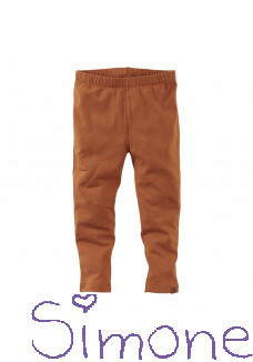 Z8 mini legging Canberra copper blush wintercollectie 2020 kinderboetiek simone