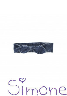 Z8 mini haarband Swan Hill indigo/bluebird wintercollectie 2020 kinderboetiek simone
