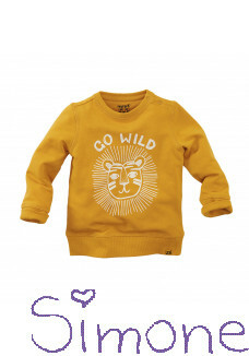 Z8 mini sweater Rockhampton ginger gold wintercollectie 2020 kinderboetiek simone