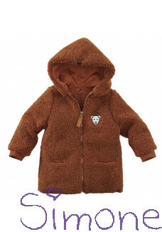 Z8 mini vest unisex Perth copper blush wintercollectie 2020 kinderboetiek simone