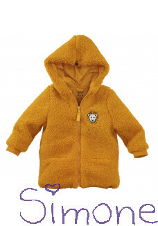 Z8 mini vest unisex Perth ginger gold wintercollectie 2020 kinderboetiek simone