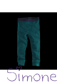 Z8 limited edition legging Nanneke navy/bottle green/stripes wintercollectie 2019 kinderboetiek simone