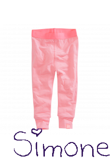Z8 striped legging Libby hot pink/white zomercollectie 2017 kinderboetiek simone