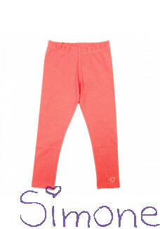 LoFff legging Z9113-15 bright peach wintercollectie 2019 kinderboetiek simone